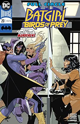 Batgirl and the Birds of Prey (2016-2018) #20