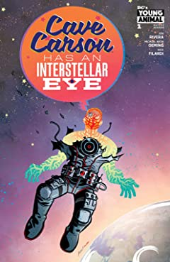 Cave Carson Has an Interstellar Eye (2018) #1