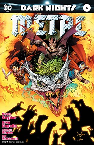 Dark Nights: Metal (2017-2018) No.6