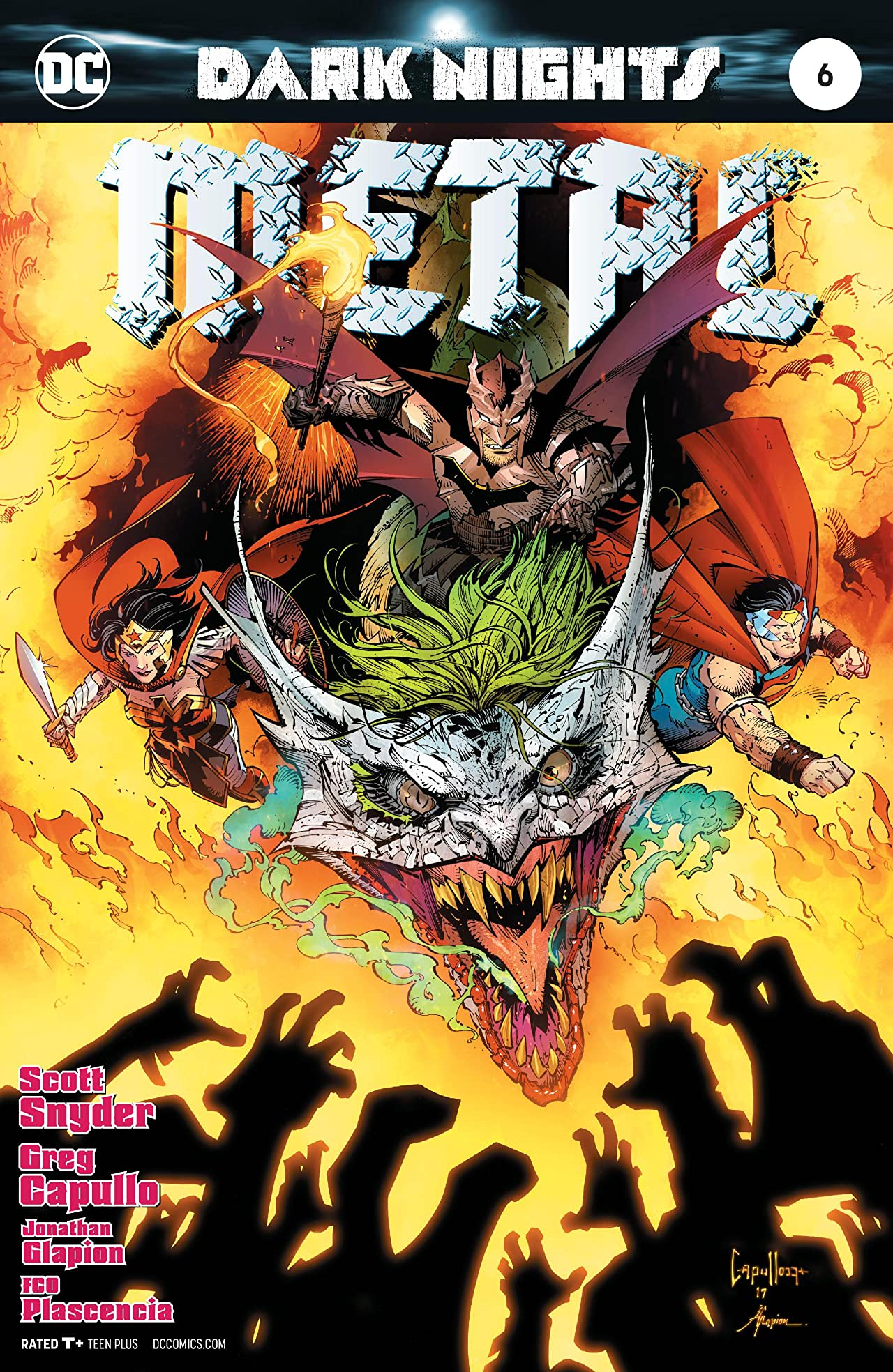 Dark Nights: Metal (2017-) No.6