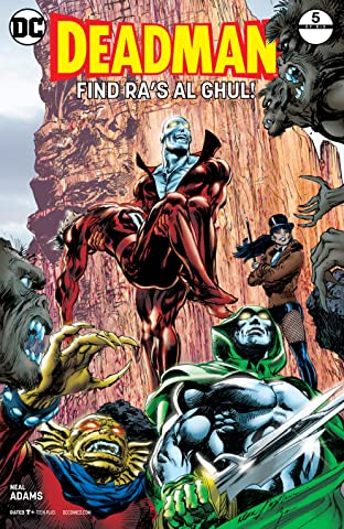 Deadman by Neal Adams (2017-) #5