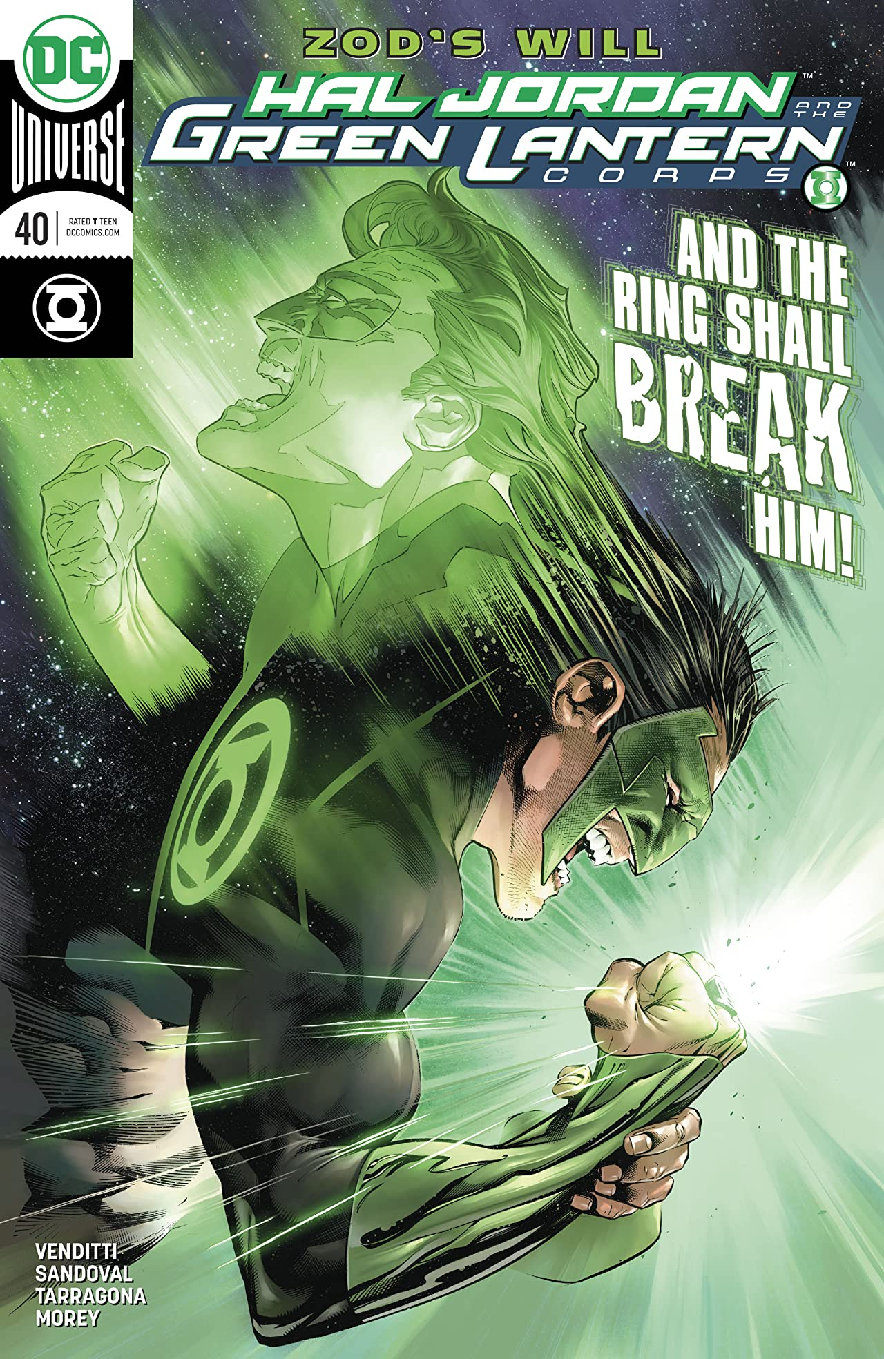 Hal Jordan and The Green Lantern Corps (2016-) No.40