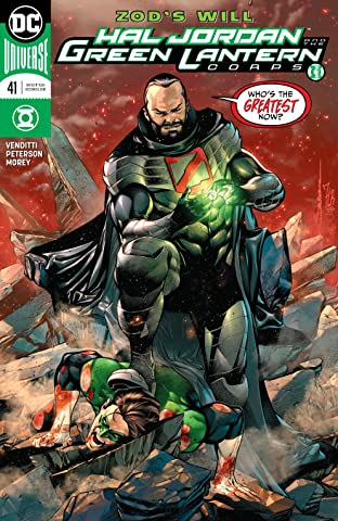 Hal Jordan and The Green Lantern Corps (2016-) No.41