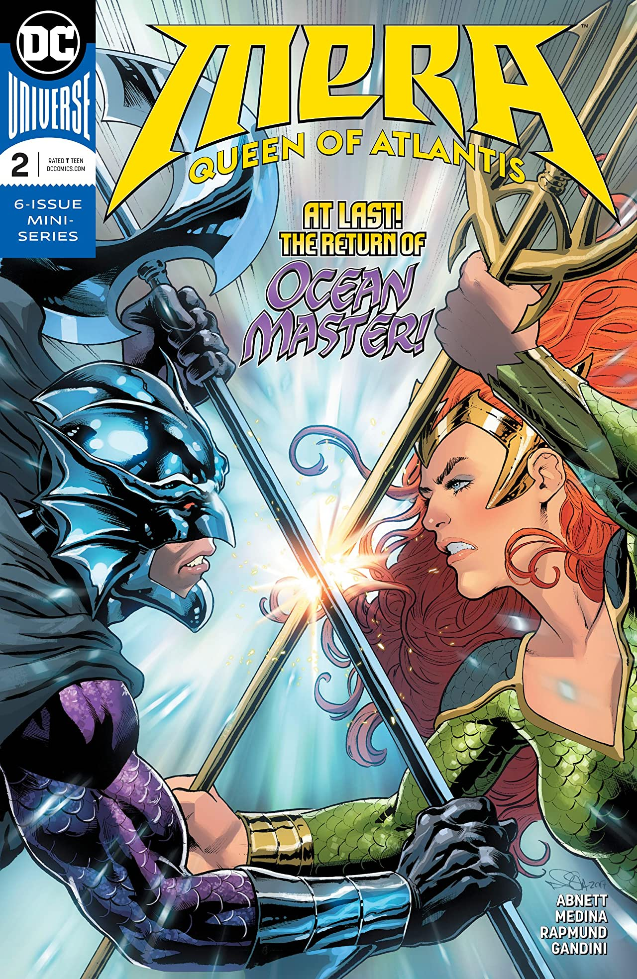 Mera: Queen of Atlantis (2018-) No.2