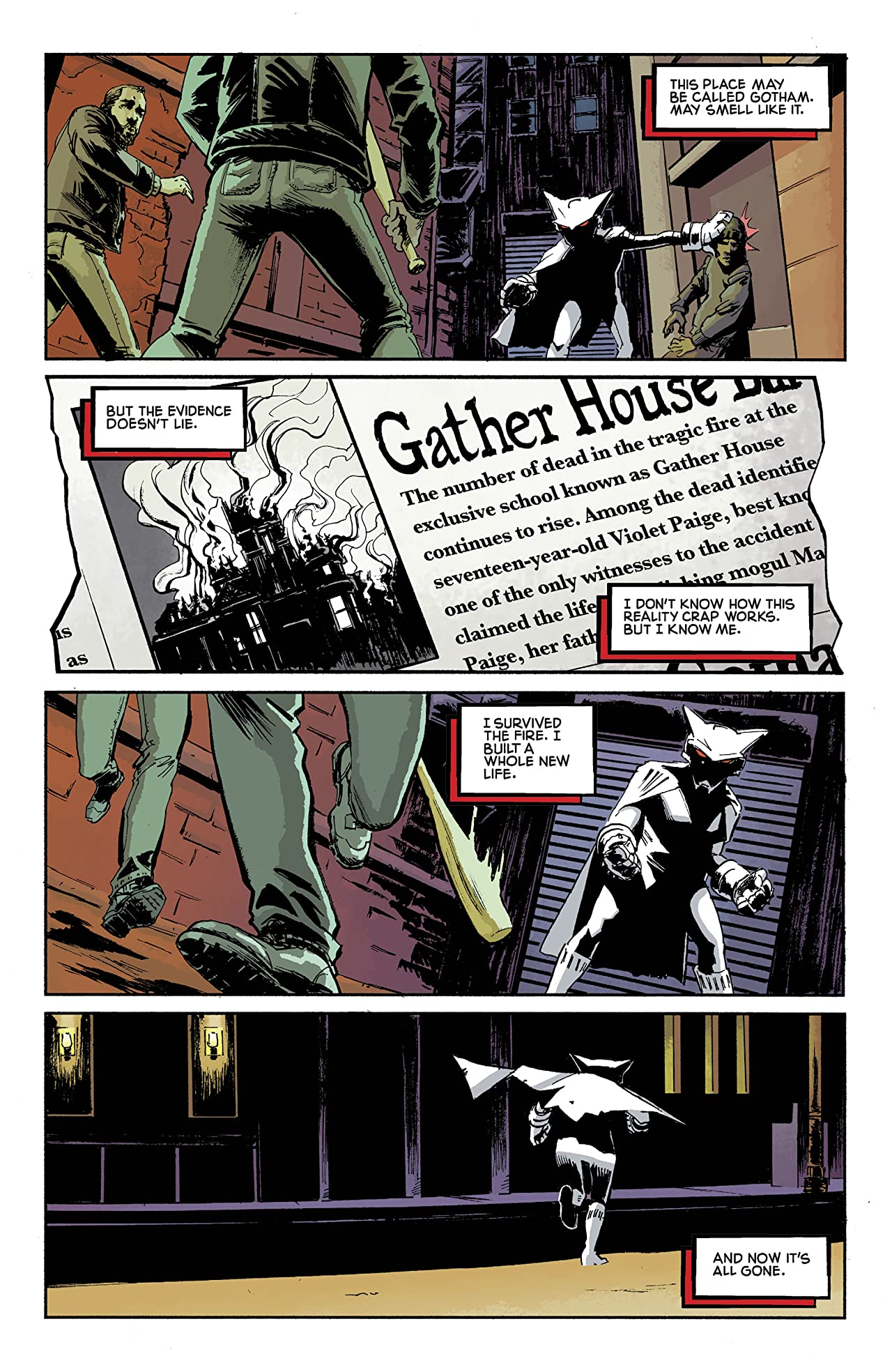 Mother Panic: Gotham A.D. (2018-) #1