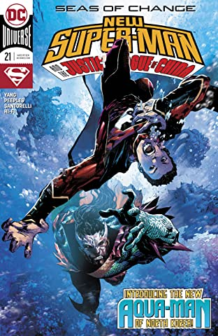 New Super-Man and the Justice League of China (2016-) #21