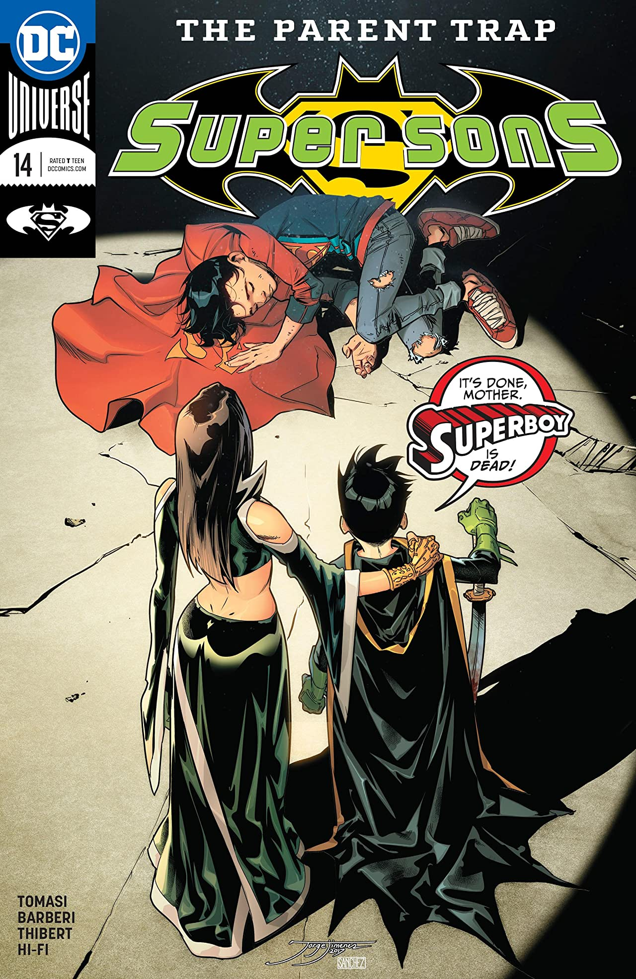 Super Sons (2017-) #14