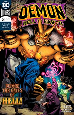 The Demon: Hell is Earth (2017-2018) #5