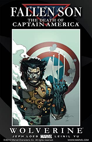 Fallen Son: Death of Captain America #1: Wolverine