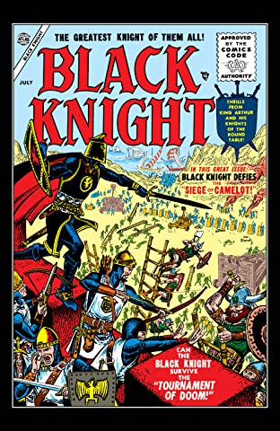 The Black Knight (1955-1956) #2