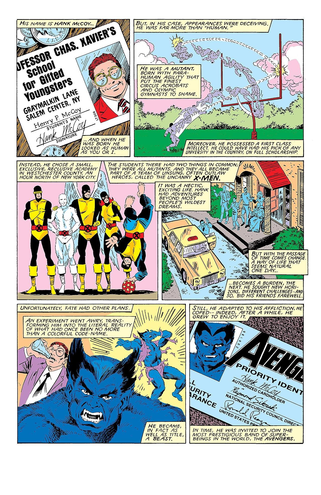 Classic X-Men (1986-1990) #17