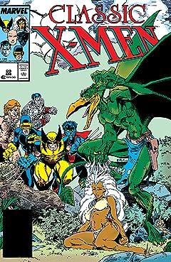 Classic X-Men (1986-1990) No.20