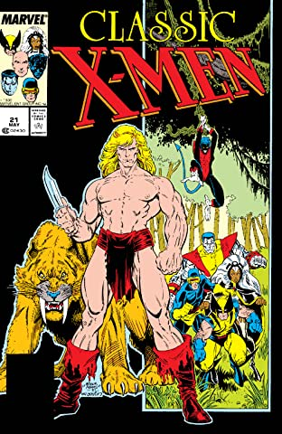 Classic X-Men (1986-1990) #21