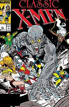Classic X-Men (1986-1990) No.22