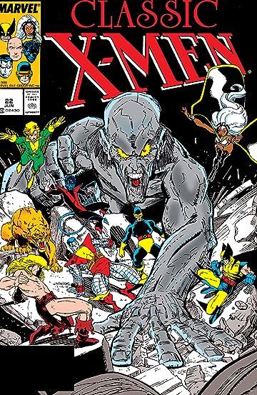 Classic X-Men (1986-1990) #22