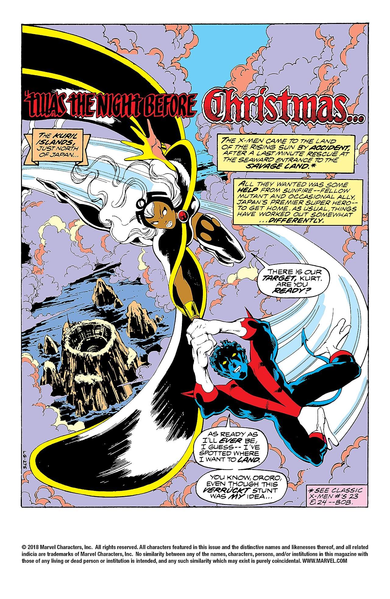 Classic X-Men (1986-1990) #25