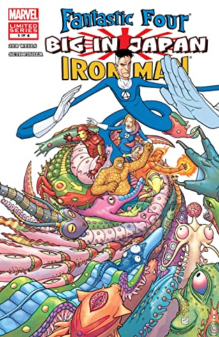 Fantastic Four/Iron Man: Big in Japan (2005-2006) #1 (of 4)
