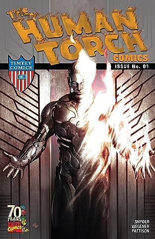 Human Torch Comics 70th Anniversary Special (2009) #1