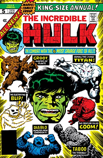 Incredible Hulk (1962-1999) Annual #5