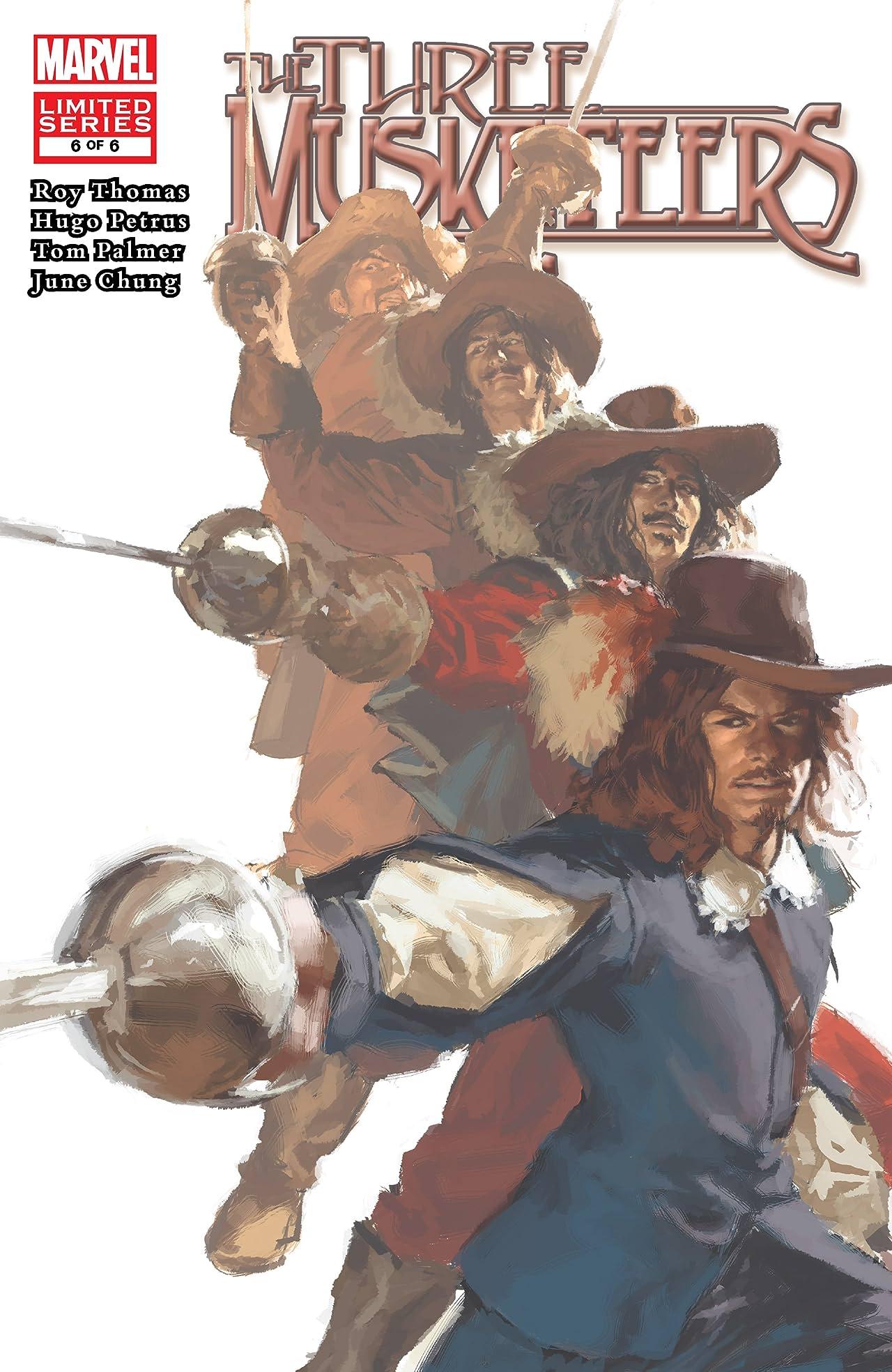 Marvel Illustrated: The Three Musketeers (2008-2009) #6