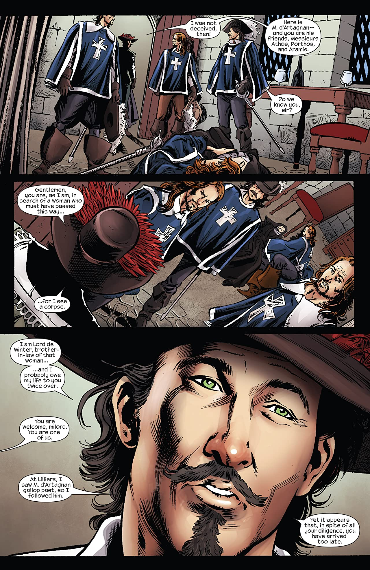 Marvel Illustrated: The Three Musketeers (2008-2009) #6