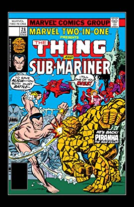 Marvel Two-In-One (1974-1983) #28