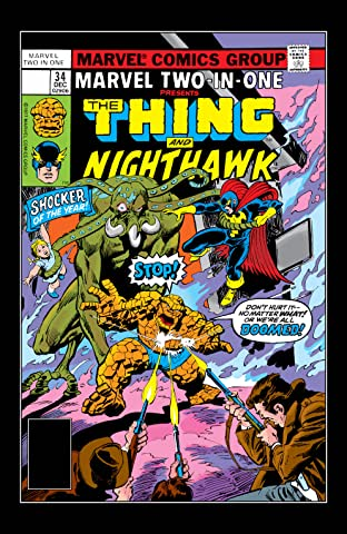 Marvel Two-In-One (1974-1983) #34