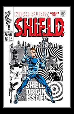 Nick Fury: Agent of S.H.I.E.L.D. (1968-1971) #4