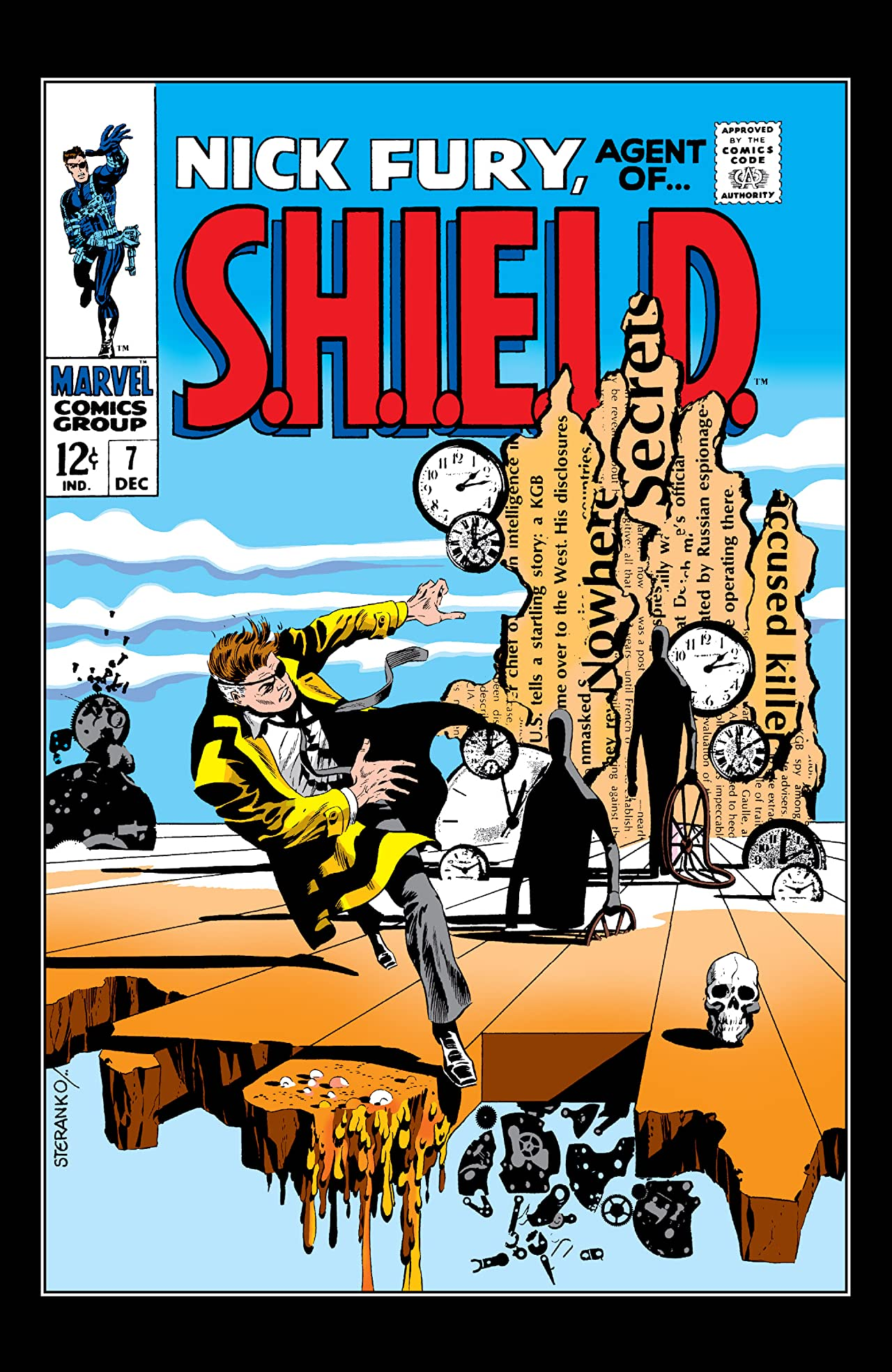 Nick Fury: Agent of S.H.I.E.L.D. (1968-1971) #7