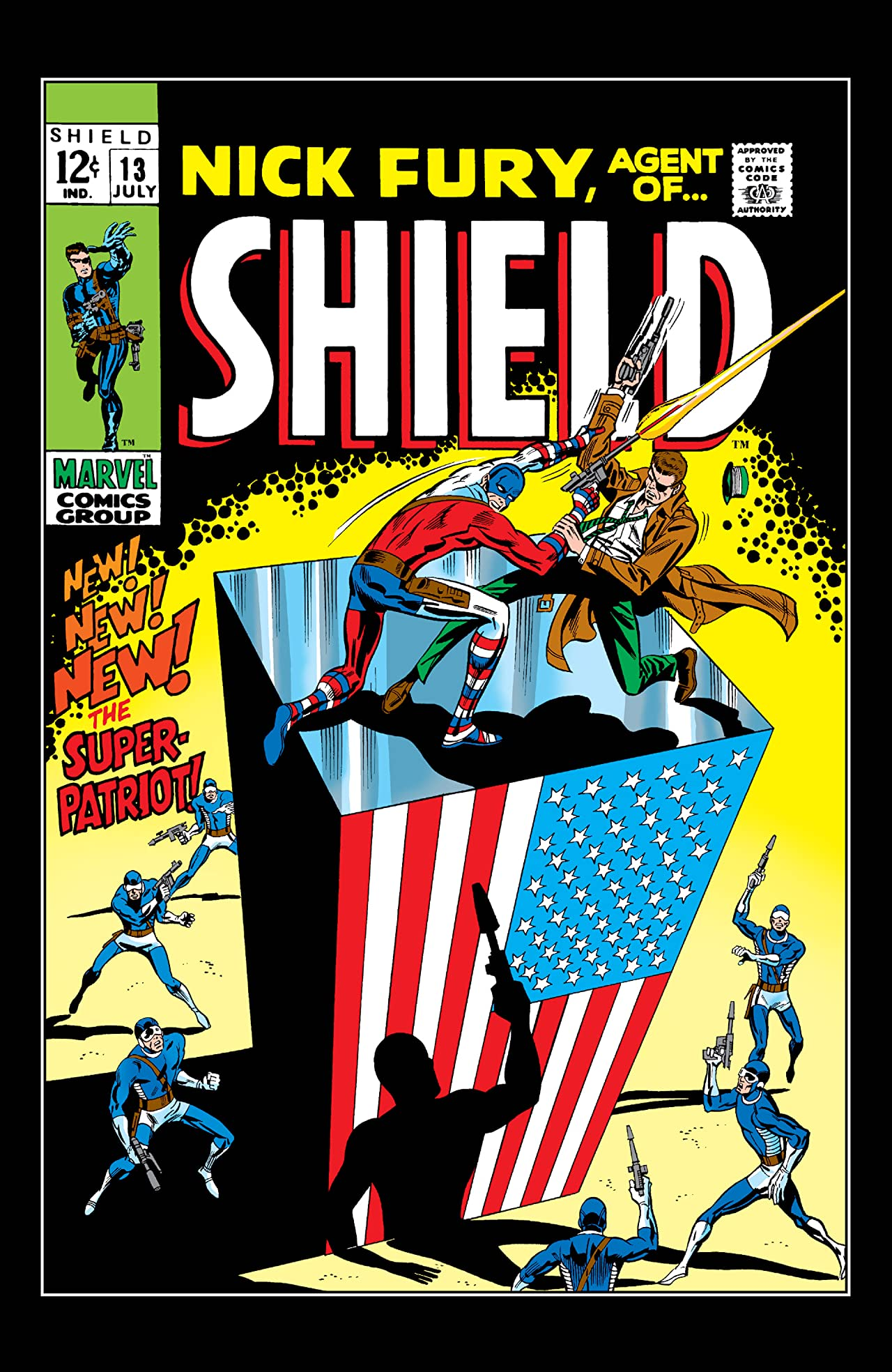 Nick Fury: Agent of S.H.I.E.L.D. (1968-1971) #13