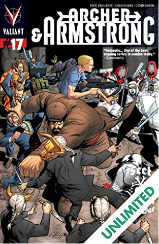 Archer & Armstrong (2012- ) #17: Digital Exclusives Edition