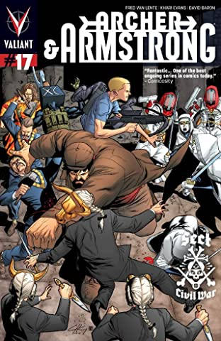 Archer & Armstrong (2012- ) No.17: Digital Exclusives Edition