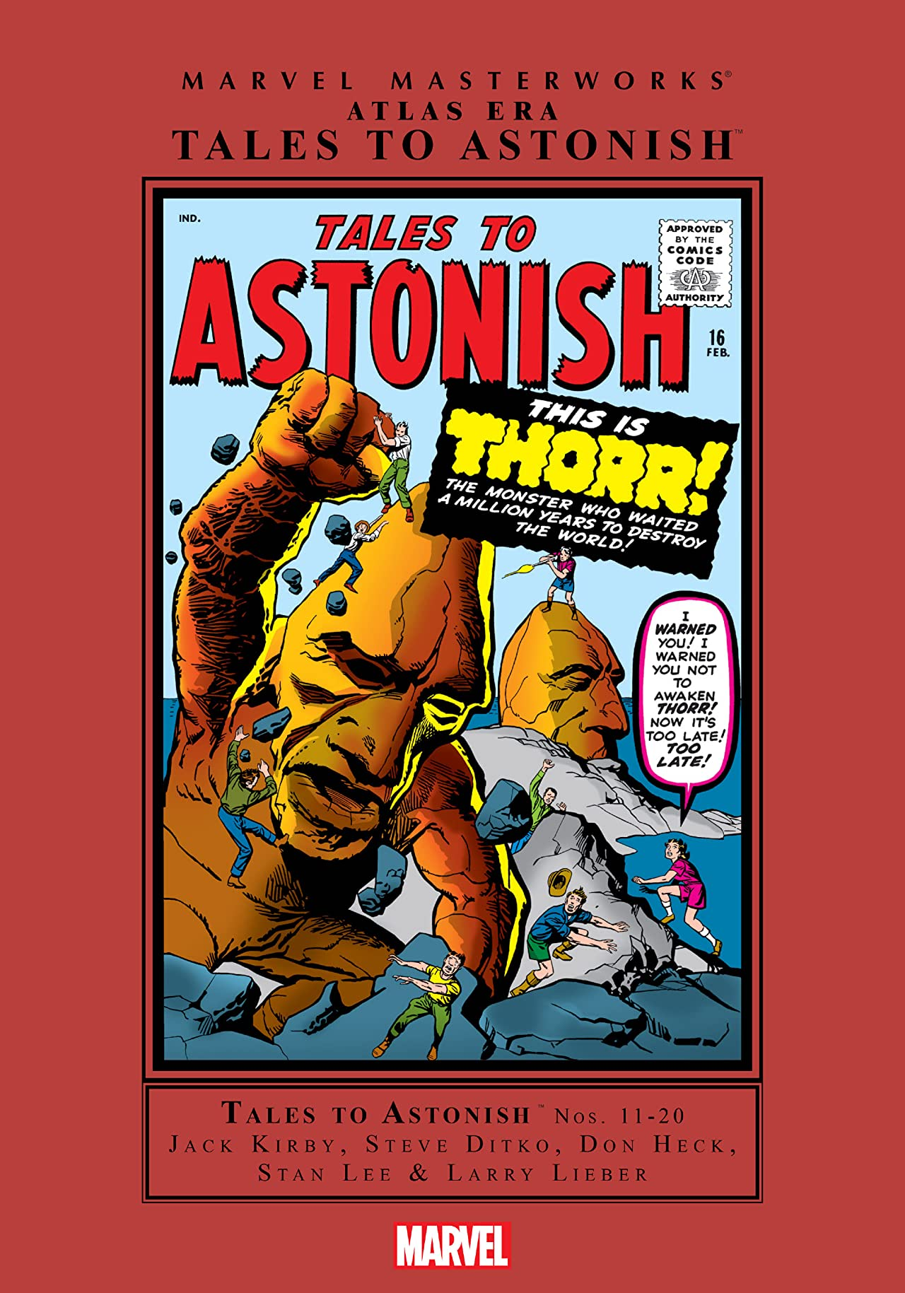 Atlas Era Tales To Astonish Masterworks Vol. 2