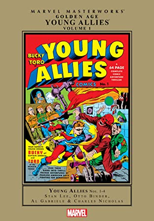 Golden Age Young Allies Masterworks Vol. 1