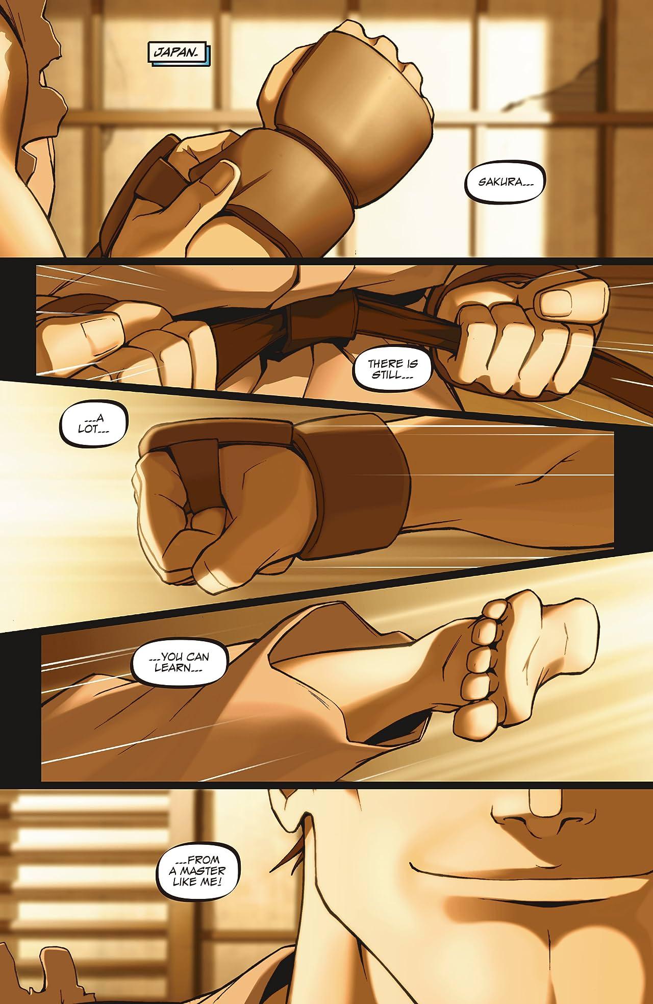 Street Fighter Legends: Sakura #1 (of 4)