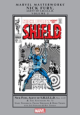 Nick Fury, Agent of S.H.I.E.L.D. Masterworks Vol. 3
