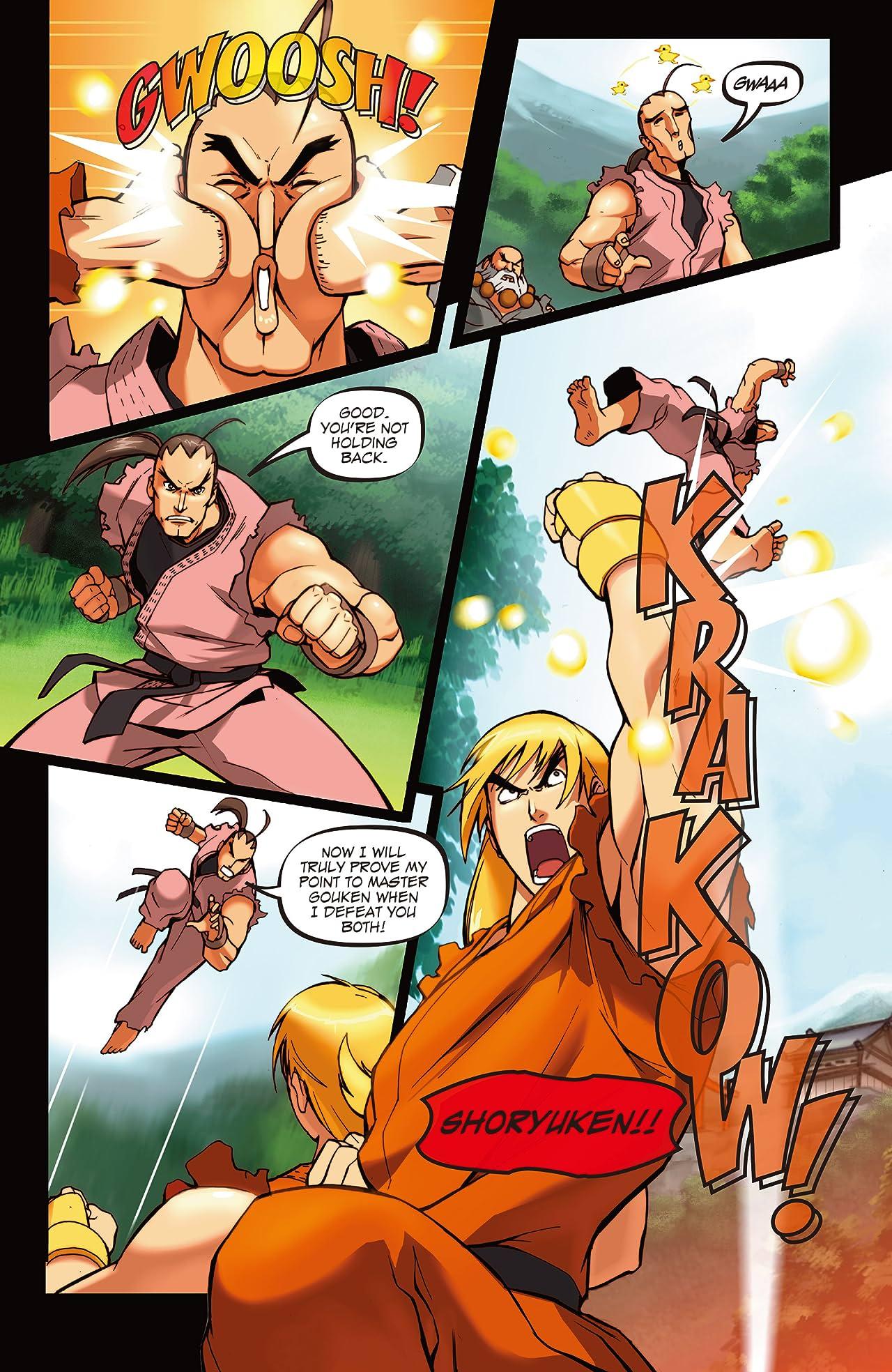 Street Fighter Legends: Sakura #2 (of 4)