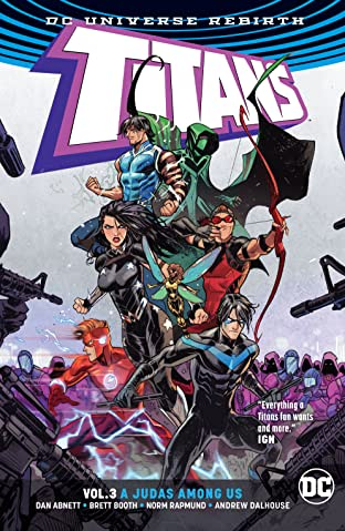 Titans (2016-2019) Tome 3: A Judas Among Us