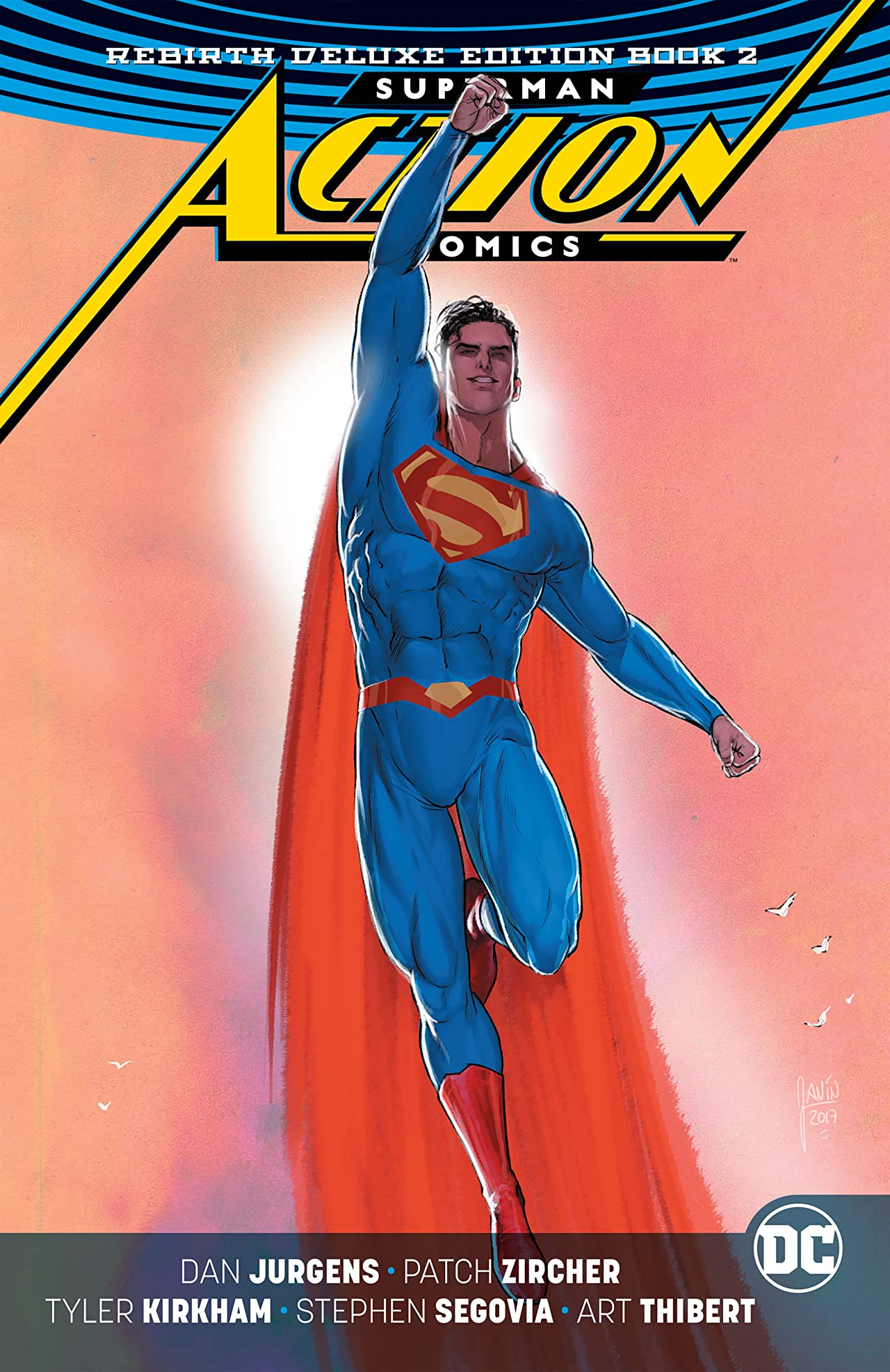 Superman - Action Comics (2016-): The Rebirth - Deluxe Edition - Book 2