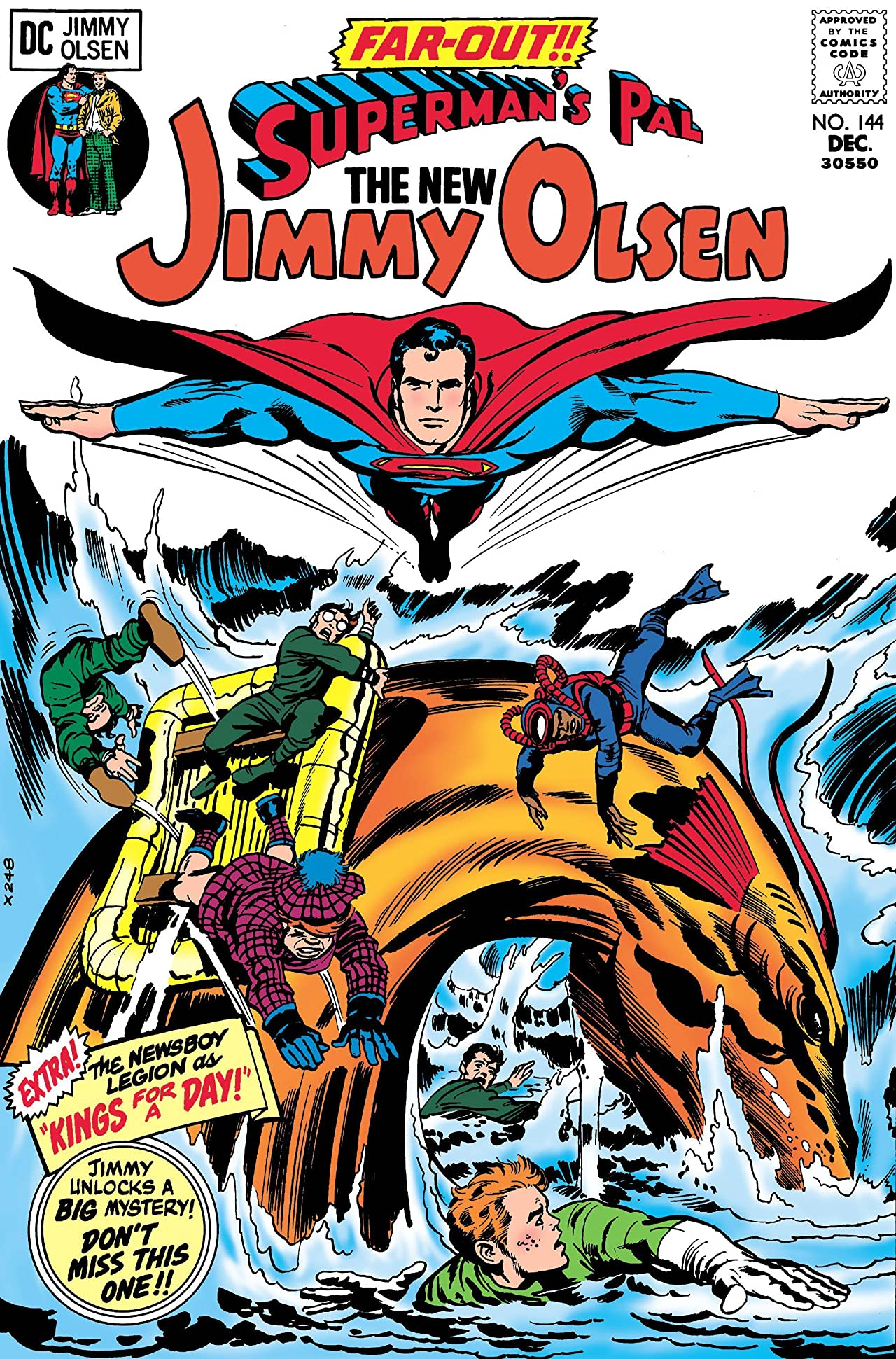 Superman's Pal, Jimmy Olsen (1954-1974) #144