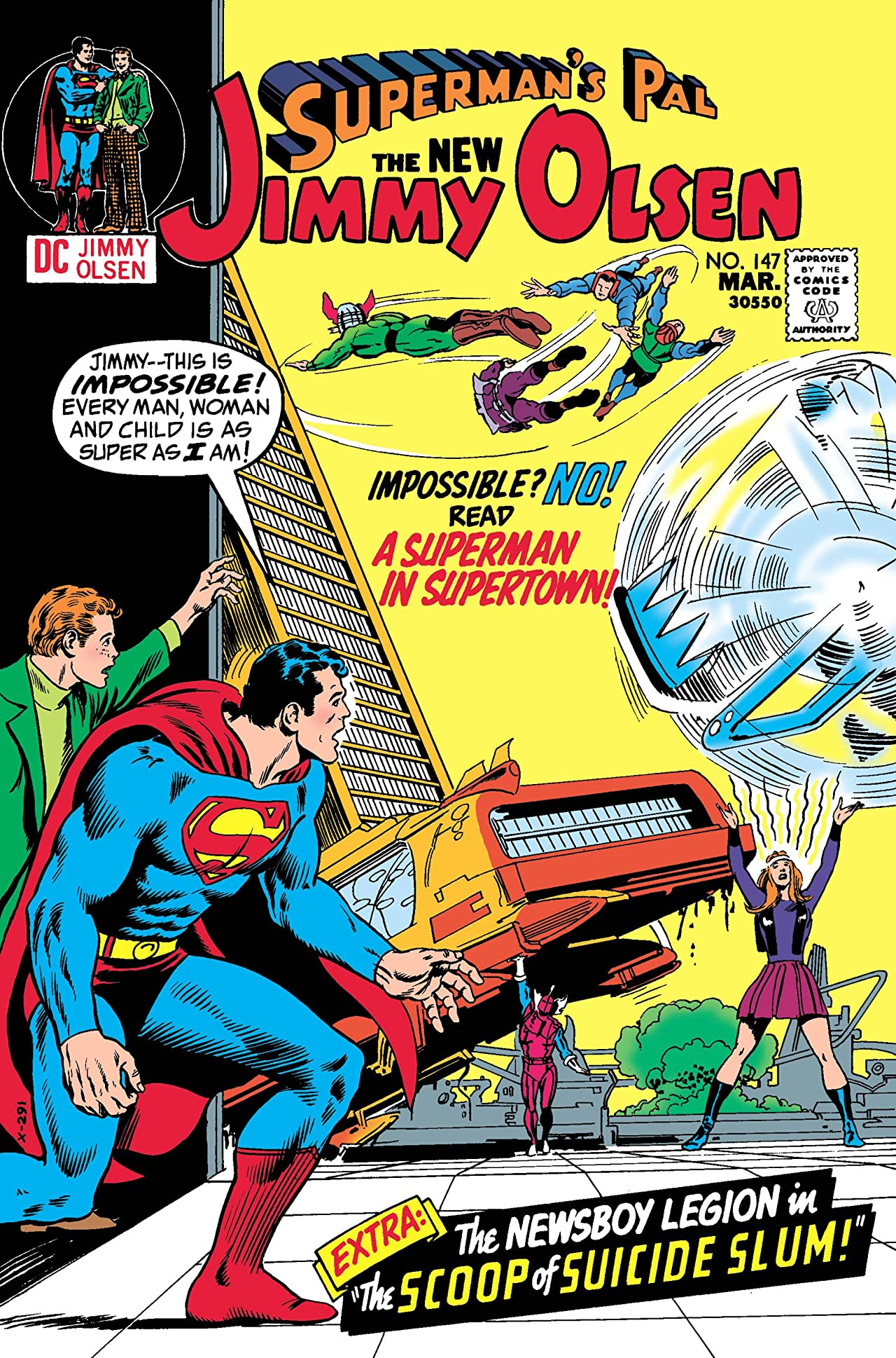 Superman's Pal, Jimmy Olsen (1954-1974) #147