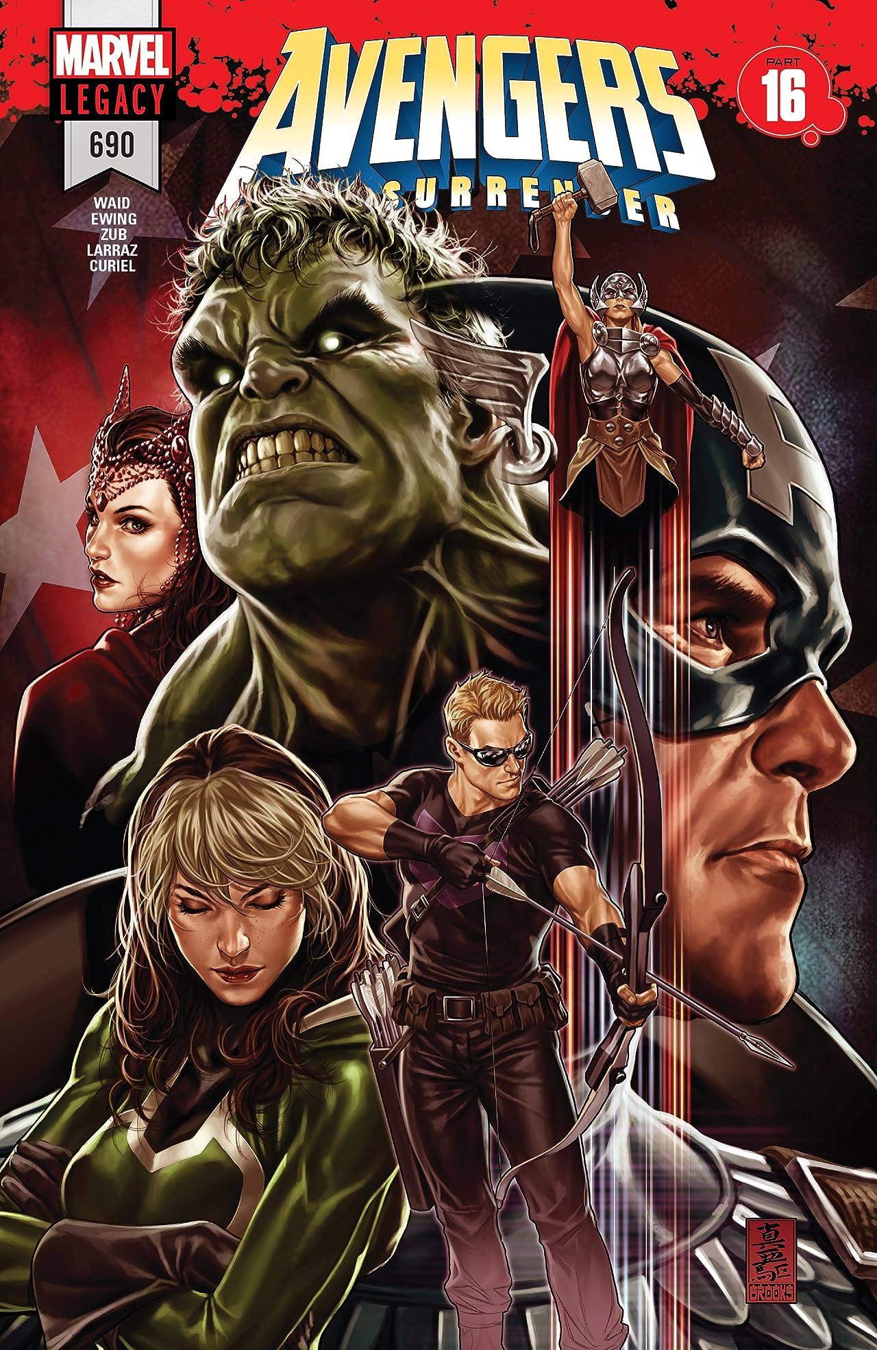 Avengers (2016-2018) #690
