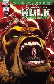 Incredible Hulk (2017-2018) #715