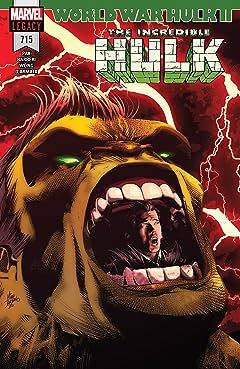 Incredible Hulk (2017-) #715