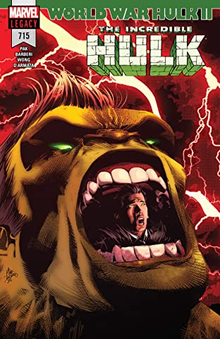 Incredible Hulk (2017-) #715