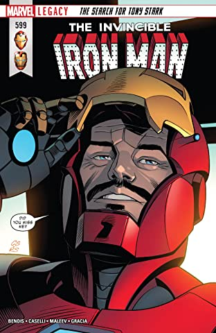 Invincible Iron Man (2016-) #599