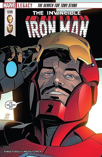 Invincible Iron Man (2016-2018) #599