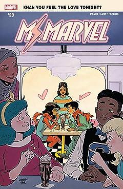 Ms. Marvel (2015-) #29
