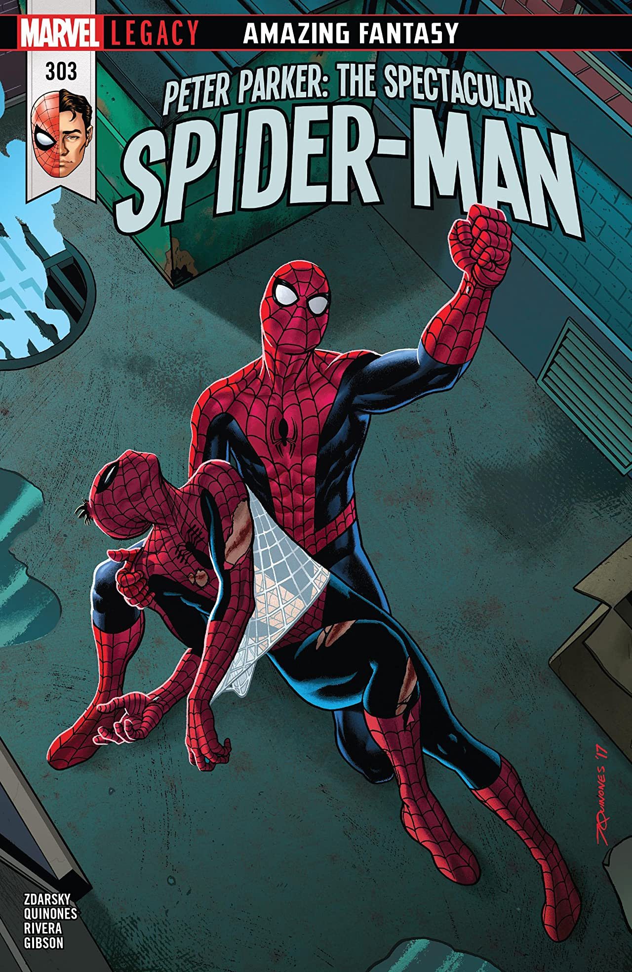 Peter Parker: The Spectacular Spider-Man (2017-) #303