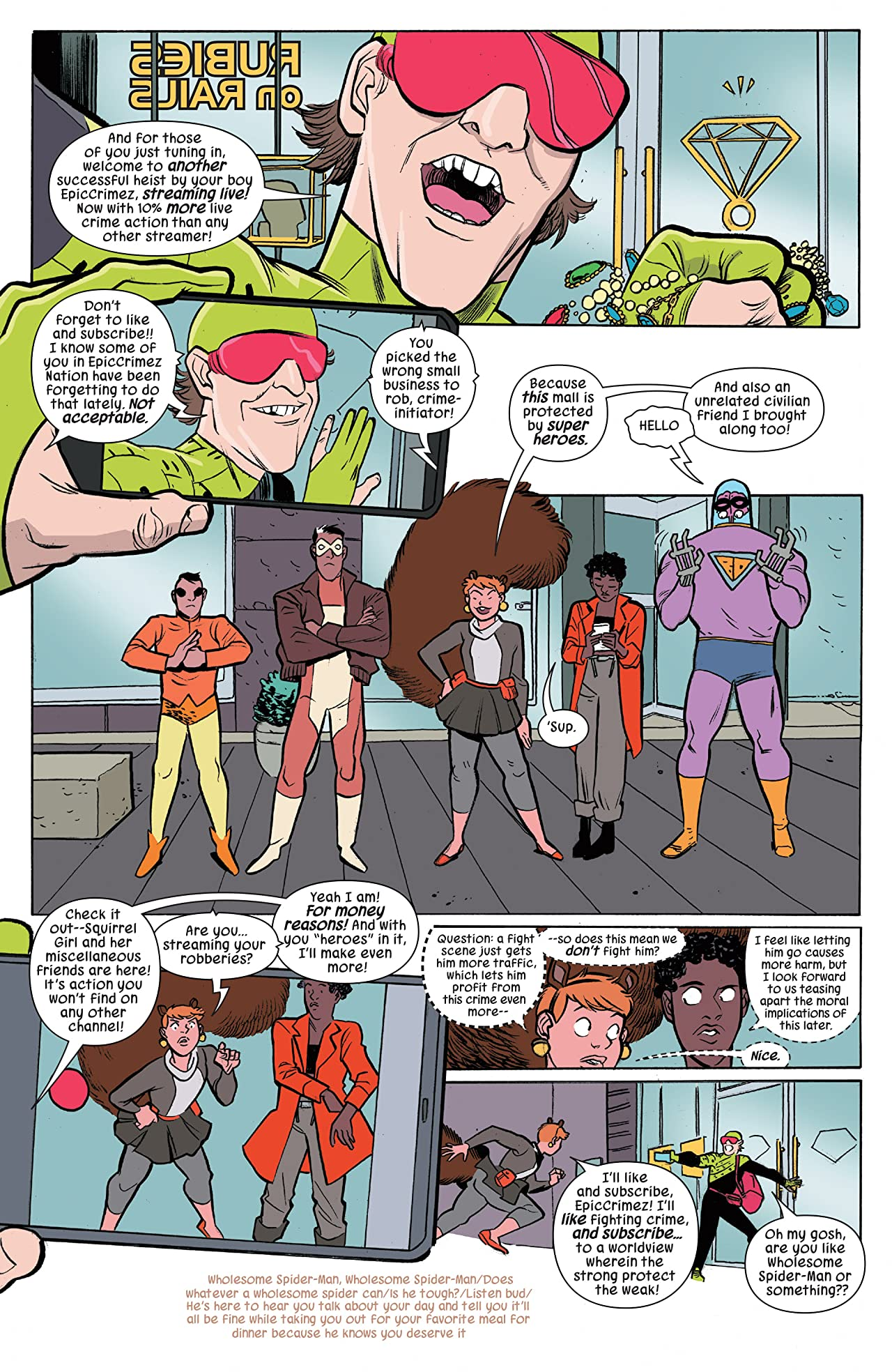The Unbeatable Squirrel Girl (2015-) #31